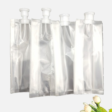 Custom printed plastic packaging bags for alcohol packaging