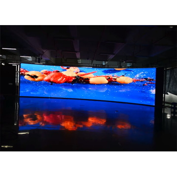 Wide Viewing Angle Indoor Curved LED Display