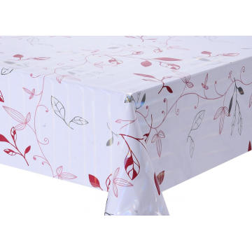 Transfer Printing  sequin Tablecloth with Silver/Gold
