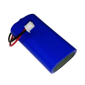 Rechargeable 18650 1S2P 3.7V 5000mAh Li-Ion Battery Pack