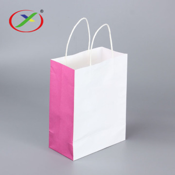 Environmental Protection Handle Kraft Paper Bags