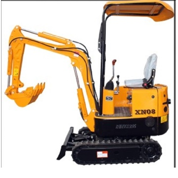 Rhinoceros mini excavator XN08 from factory