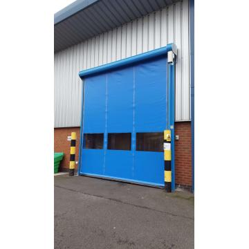 Fabric Self Recovery Rapid Shutter Door