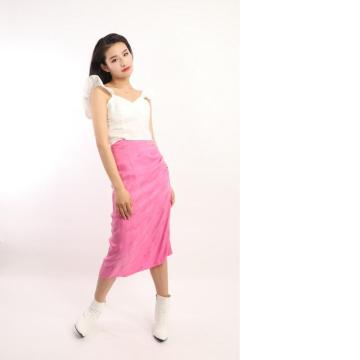 LADIES PENCIL MIDI SKIRT