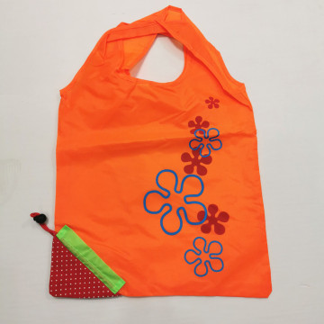 Reusable Tote Nylon Foldable Strawberry Shaped Shopping Bag