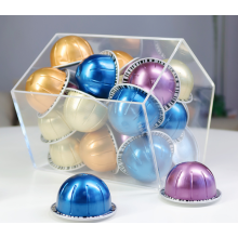 Pentagon Acrylic Capsule Pod Holder
