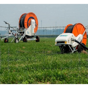Low energy consumption hose reel irrigator