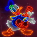 DONALD DOKK NEON SIGN