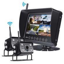 Telecamera di backup wireless IP69 Monitor impermeabile da 7 pollici
