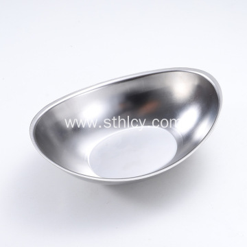 304 Korean Creative Stainless Steel Salad Bowl Cutlery