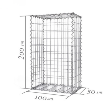 Galvanized PVC Gabion Box Price Gabion Cages