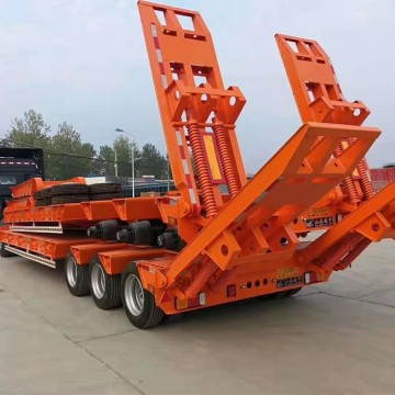 Cheap 13m Long Lowbed Trailer