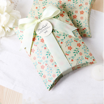 Cute Cookies packaging gift pillow box