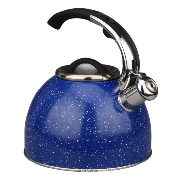 Stainless Steel Whistling Tea Kettle Rust-Resistant Stovetop