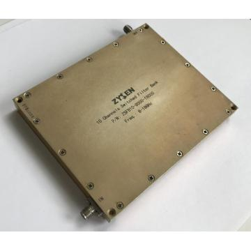 8-18GHz Switched Filter Bank 10channels