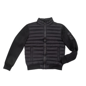 High density nylon Men`s padding jacket