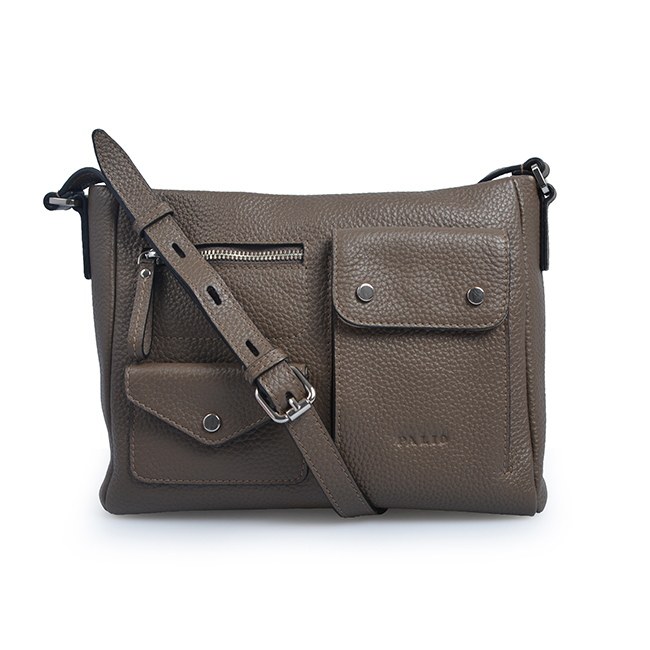 Functional Vintage Multi Pocket Crossbody Bag Women