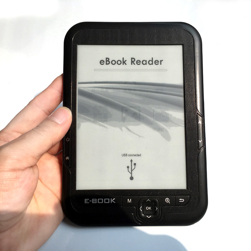 NEW 6 inch e INK electronic ink screen digital ebook reader Built-in 16GB Memory and Support SD card Extended E612