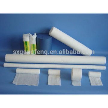 Gauze Bandage Roll 100% Cotton. BP.