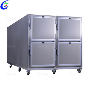 6 Bodies Stainless Steel Mortuary Coolers Cabinets