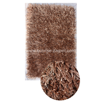 Polyester Viscose & Silk Shaggy Carpet