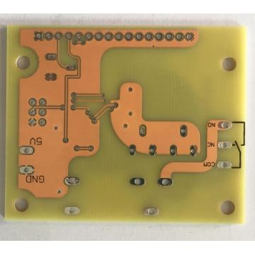 2 layer clear solder PCB