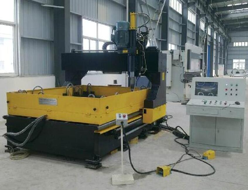 CNC Circle Plate Driiling Machine  Coal Industry
