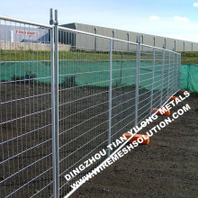 Temporary fence ideal for isolation
