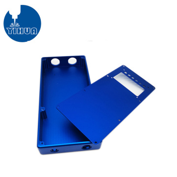 Blue Anodizing Aluminum Electronic Enclosure
