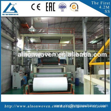 Hot Selling AL-3200MM SSS Non Woven Fabric Making Machine with High Quality