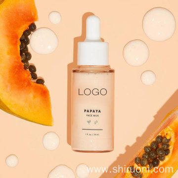 Private Label Pure Fruit Papaya & Collagen Skin Care Serum Face Anti Fine Face Milk Serum