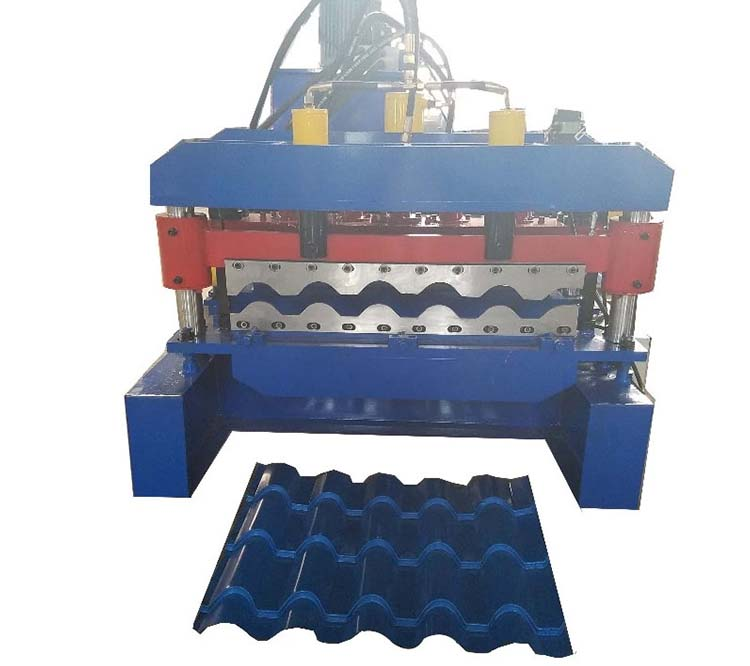 sheet roof tile machine
