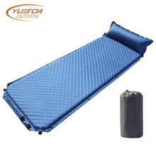 Single Use Self Inflating Sleeping Pad With Pillow