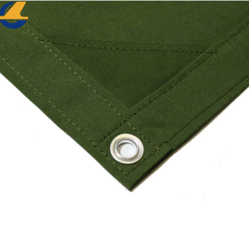 Waterproof Polyester Canvas Roof Leak Tarps Sheet
