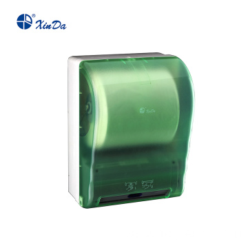 Touch free paper towel dispenser with Microcomputer control