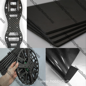 2019 Hot sale 6mm 3k carbon fiber sheet
