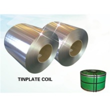 Tin coating plate for metal cans