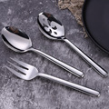 Stainless Serving  Fork  Spoon Set
