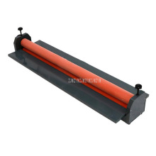 Hand Operate Manual Laminating Machine Cold Roll Laminator Coating Max Width 131cm Thickness 15mm Iron Metal Cold Roll Laminator