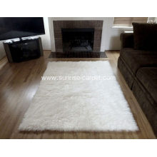 Faux Sheep Skin Rug carpet