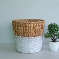 grass handicraft collecting basket