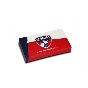 Hinged Rectangle Gift Box with Offset Printing