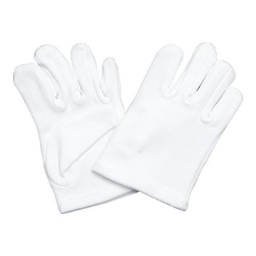 cheap white disposable gloves