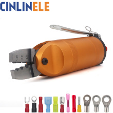 Pneumatic Air Crimping Pliers Crimper Shear Cutter Tools Metal for Wire Connector Terminal Nipper Parts Clamp scissors Body Head