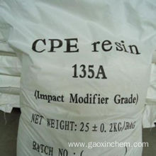 Chemical industry grade chlorinated polyethylene chemical cpe 135 for sale