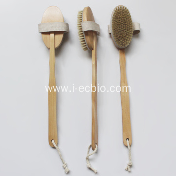 Multifunctional Bath Brush Wooden Environmental Protection Bath Brush