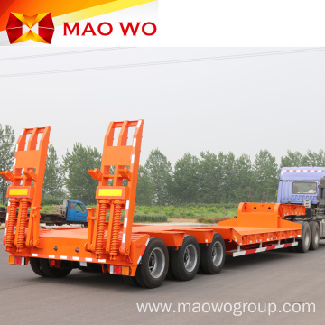 Customized 60 Ton Gooseneck Lowbed Lowboy Trailer