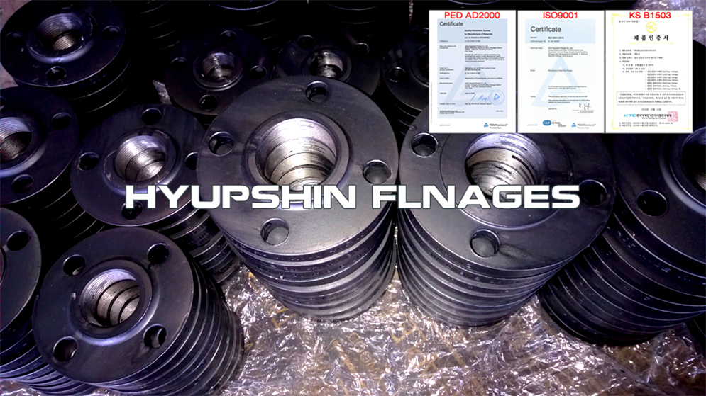 Hyupshin Flanges Threaded Screwed Ansi B16 5 150 Class
