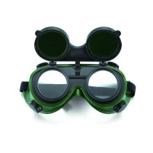 Flip Type Double Lens Safety Welding Goggle