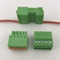 3.81mm pitch 5 pin spring pluggable terminal block